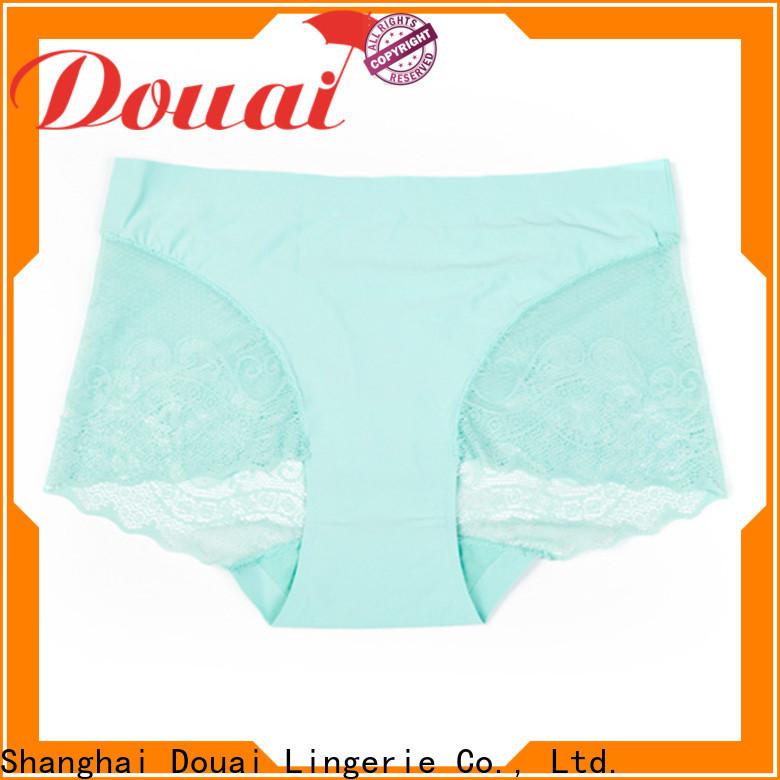 Douai high quality sheer lace panties promotion for madam