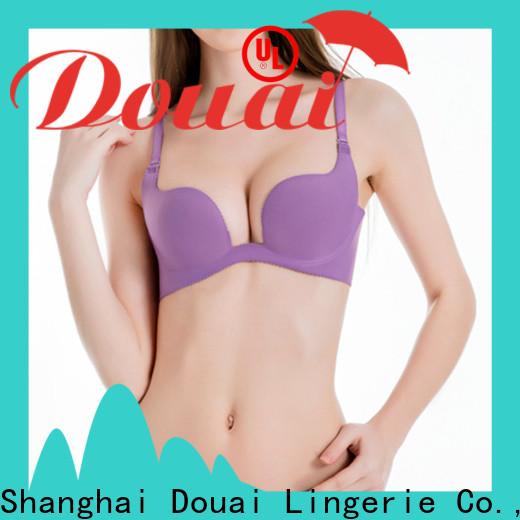 popular u plunge push up bra customized for party
