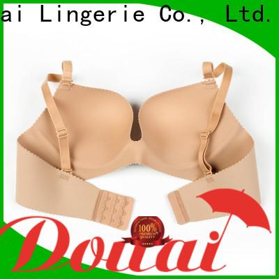 Douai durable cotton seamless bra wholesale for women