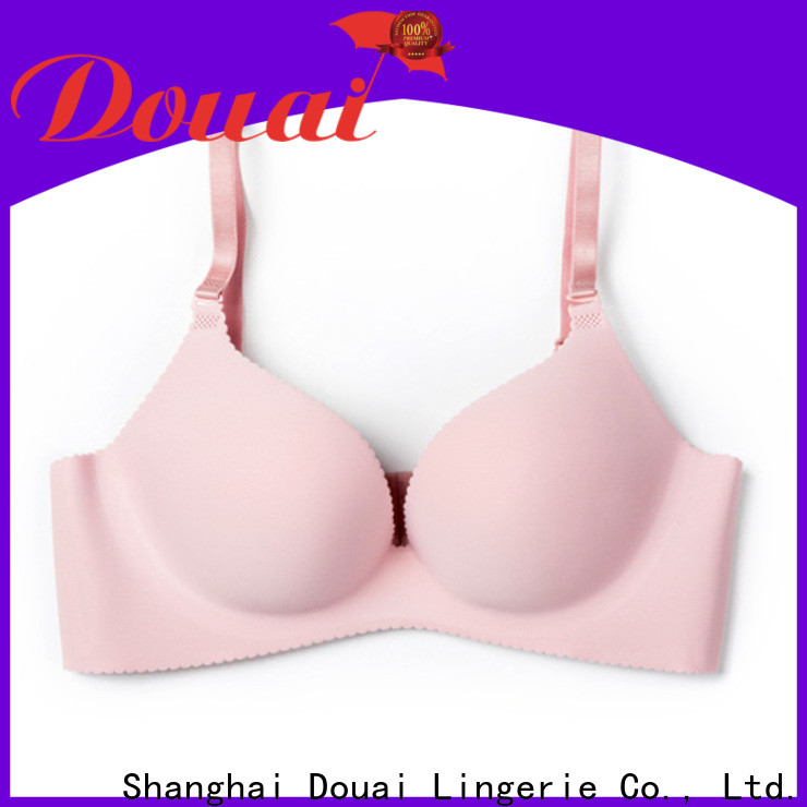 simple seamless padded bra design for madam