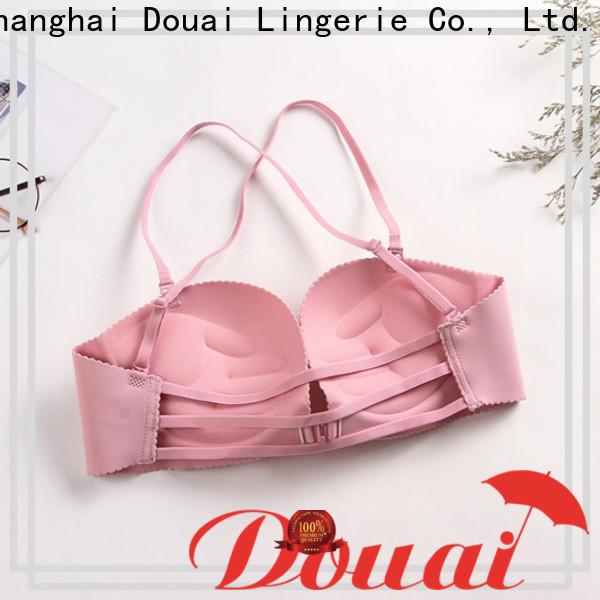 Douai fashionable front clip bras design for ladies