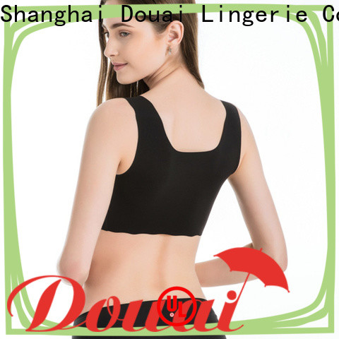 natural yoga bras for large breasts factory price for sport