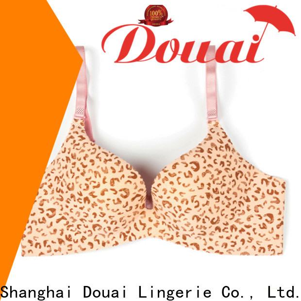 Douai comfortable plus size full coverage bras manufacturer for girl