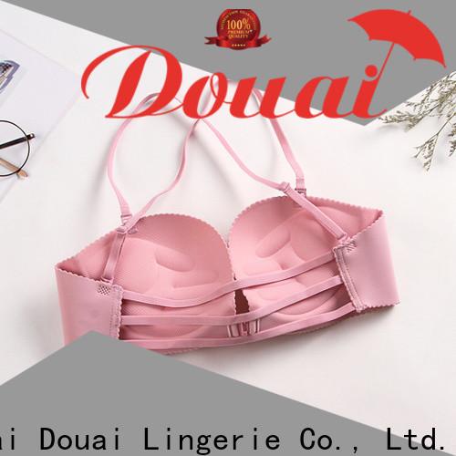 Douai front buckle bra supplier for ladies