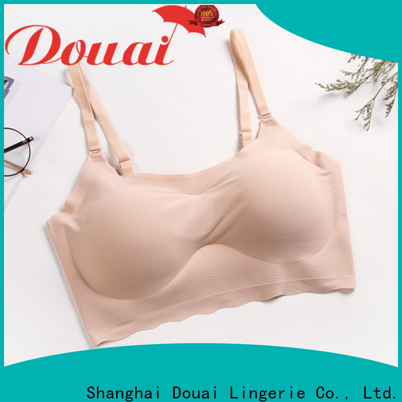 Douai seamless strap bra top manufacturer for hotel