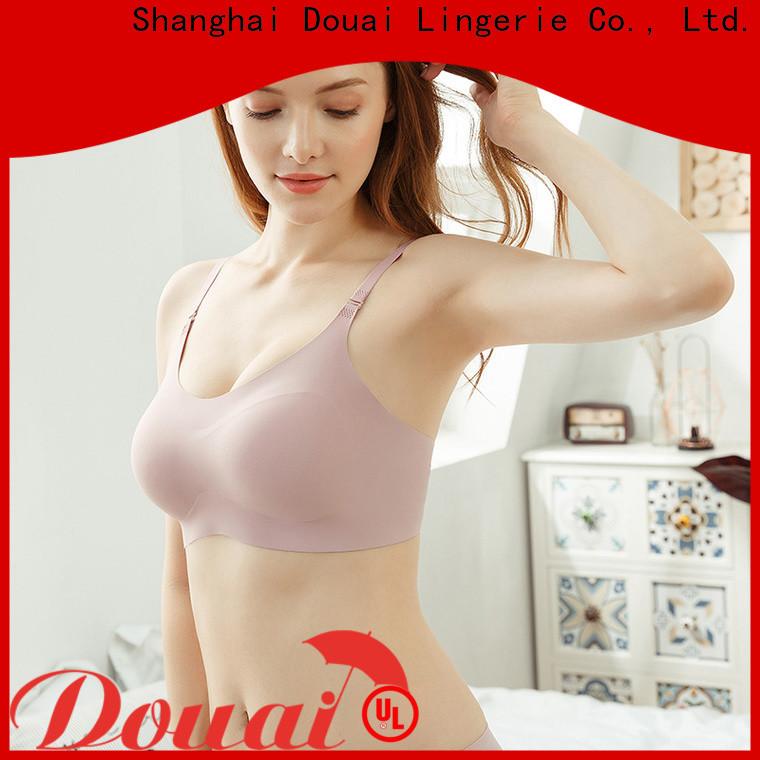 Douai seamless women's bra tank tops manufacturer for bedroom