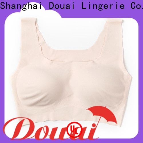 Douai seamless bra tops with support supplier for home
