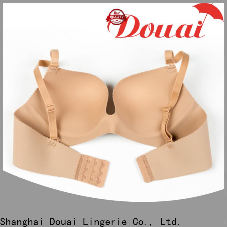 Douai seamless push up bra design for madam