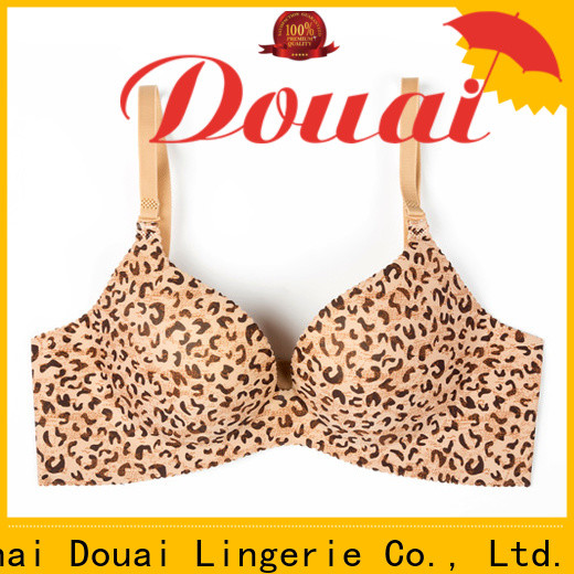 Douai attractive seamless push up bra directly sale for madam