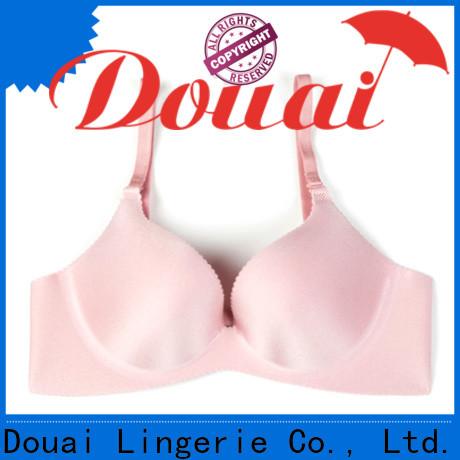 Douai best full coverage push up bra promotion for girl