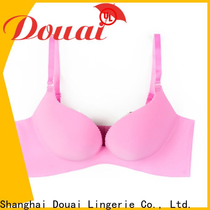 Douai comfortable good push up bras supplier for girl