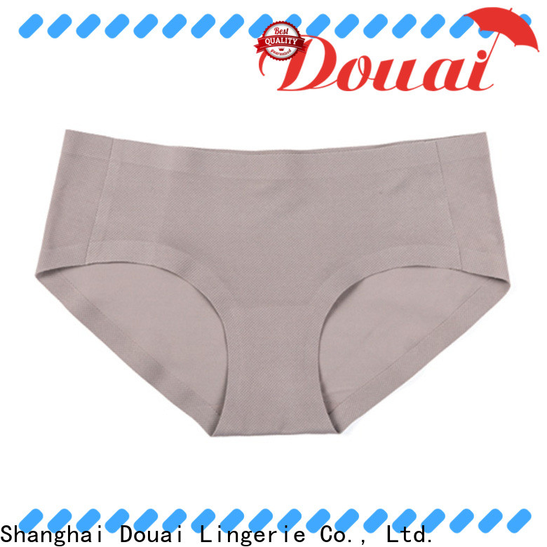 Douai healthy girls seamless underwear factory price
