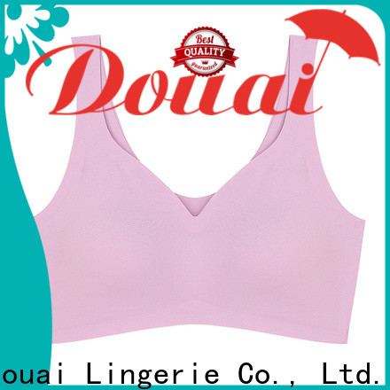 natural ladies sports bra supplier for sport