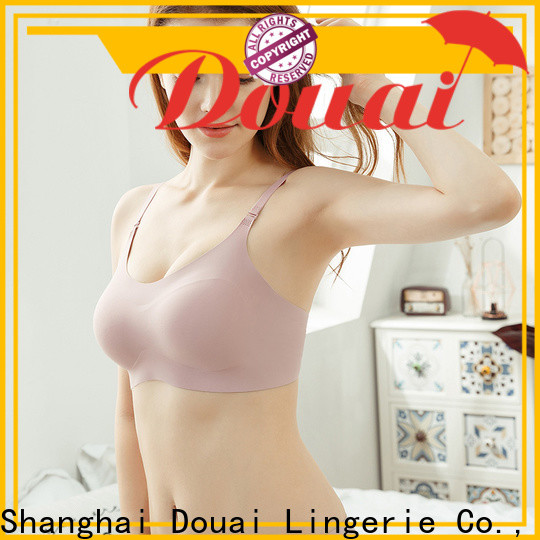Douai detachable seamless camisole bra wholesale for hotel