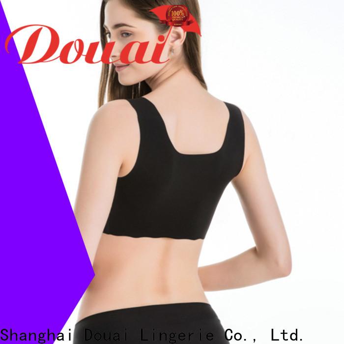 Douai soft yoga sports bra factory price for yoga