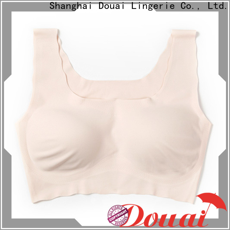 Douai seamless one piece seamless bra wholesale for bedroom