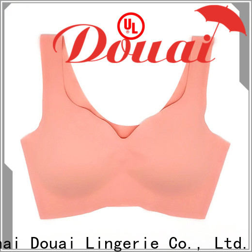 elastic low impact sports bra personalized for hiking