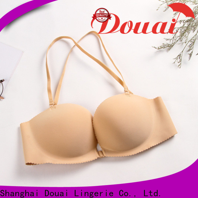 cotton front closure padded bras design for ladies