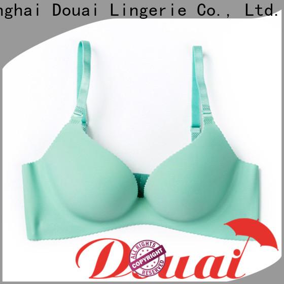 Douai durable cotton seamless bra design for madam