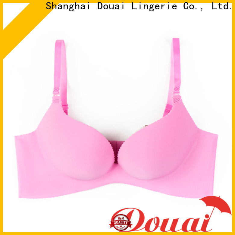 Douai breathable the best push up bra customized for ladies