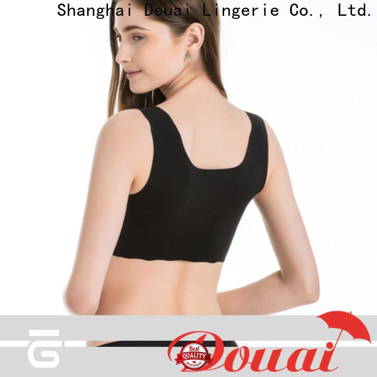 Douai natural bra sport factory price for yoga