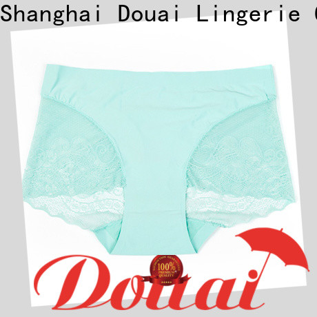 silky lace back panties manufacturer for ladies