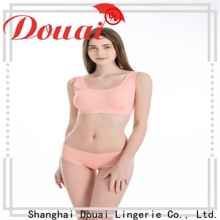 Douai elastic most supportive sports bra personalized for sport