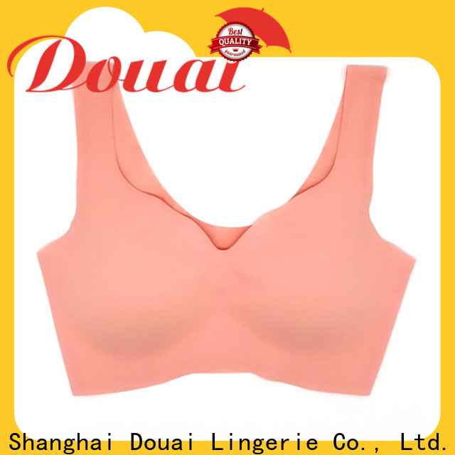 Douai natural most supportive sports bra wholesale for hiking