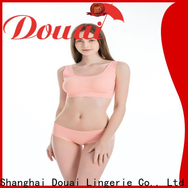 Douai thin womens sports bra supplier for hiking