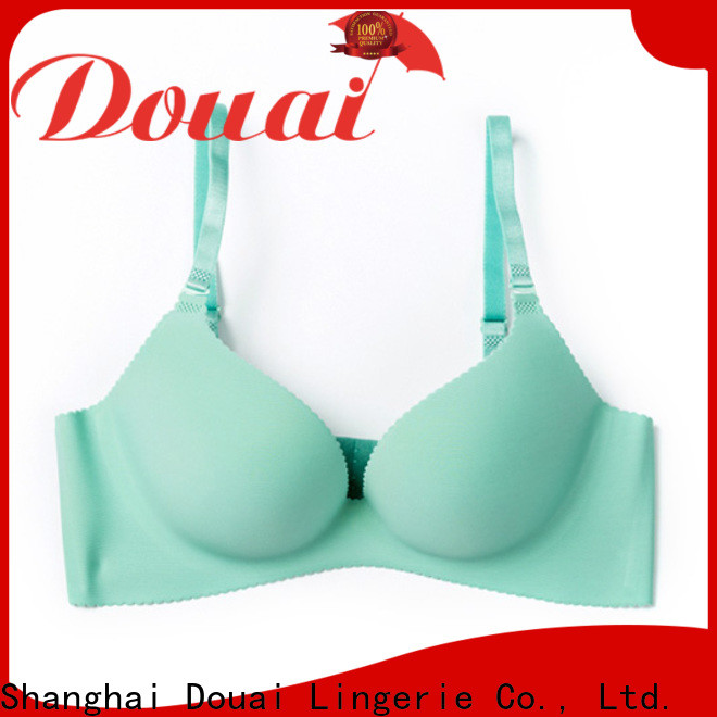 Douai attractive seamless cup bra directly sale for madam