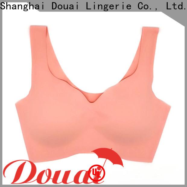 Douai light womens gym bra factory price for sport