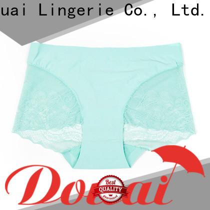 Douai silky sexy lace underwear supplier for women