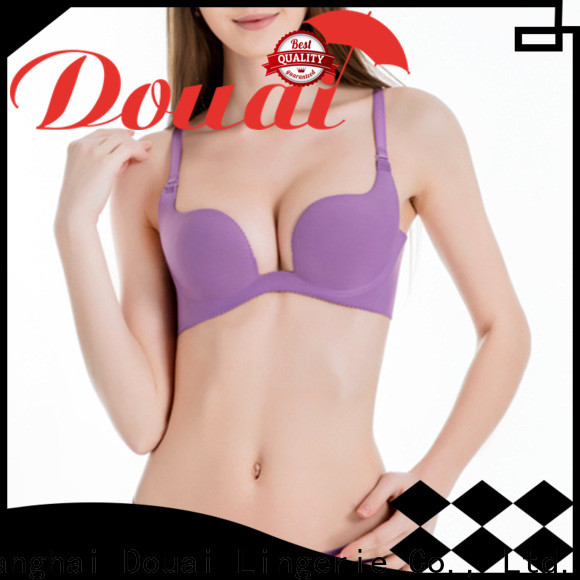 Douai u plunge push up bra from China for beach