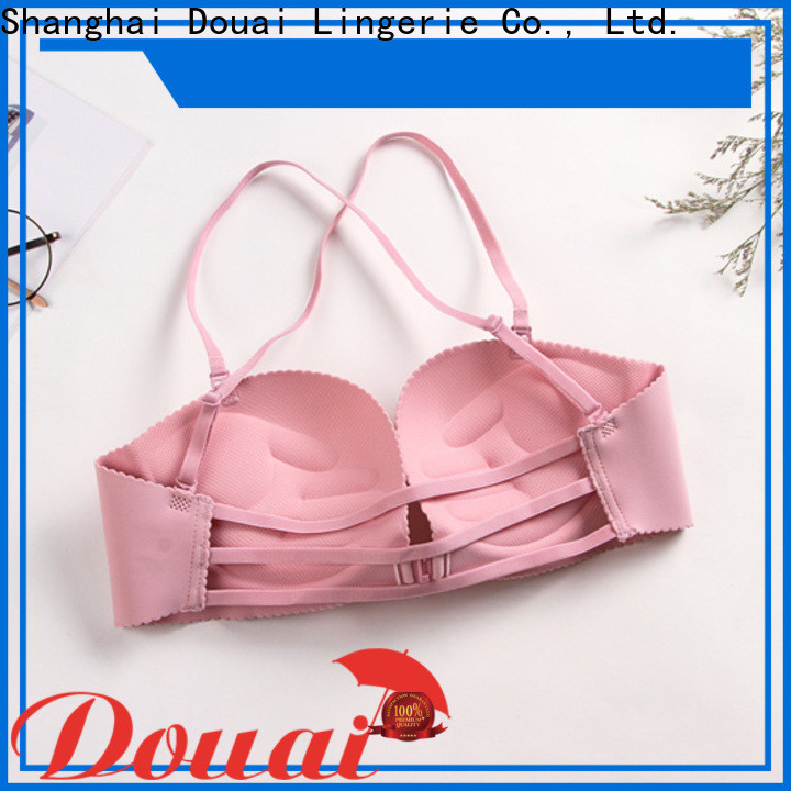 fancy front lock bra wholesale for madam