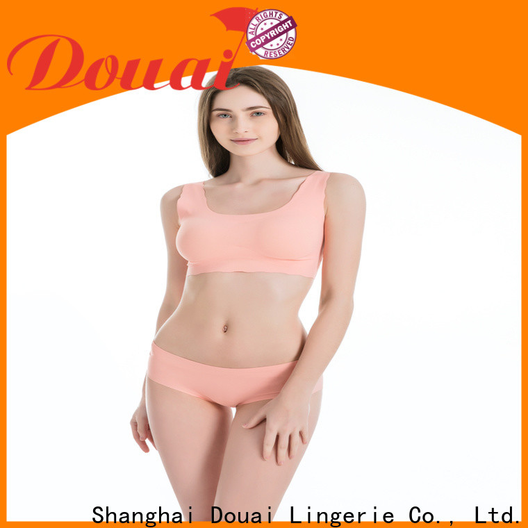 Douai light most comfortable sports bra factory price for hiking