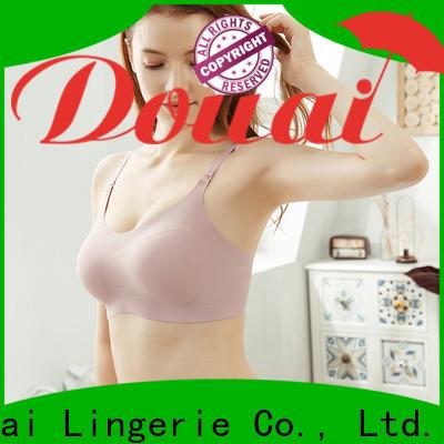 Douai seamless wireless bra manufacturer for home