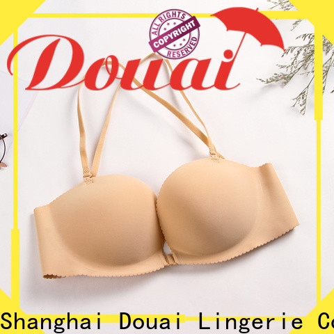 fashionable front clasp bralette supplier for girl