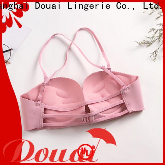 cotton front closure padded bras wholesale for ladies