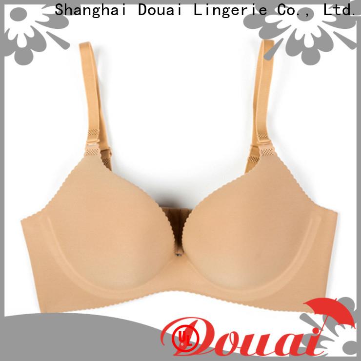 Douai seamless padded bra design for madam