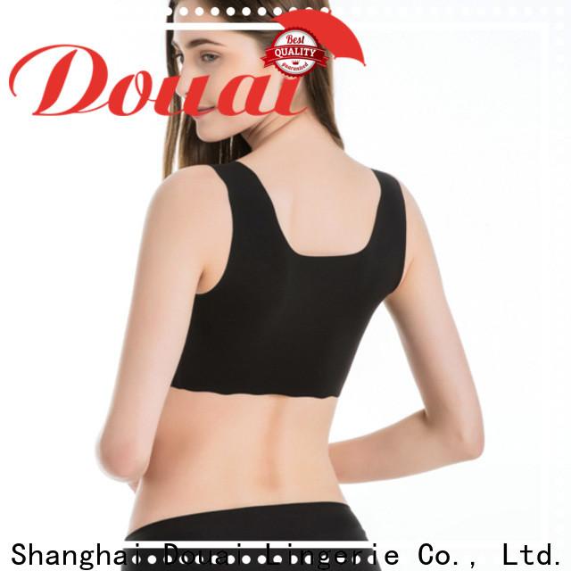 Douai soft yoga bra top factory price for sking
