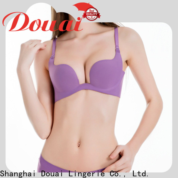 Douai u shape bra customized for dress