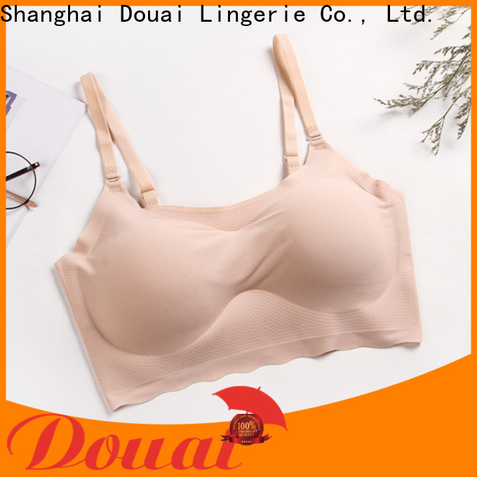 comfortable seamless comfort bras factory price for hotel
