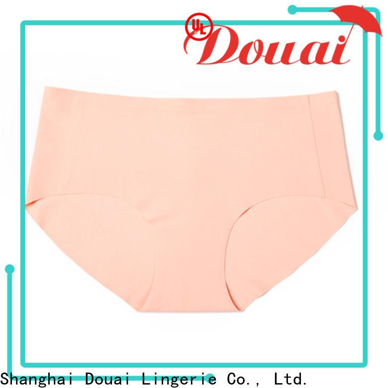 Douai comfortable girls seamless underwear wholesale for girl