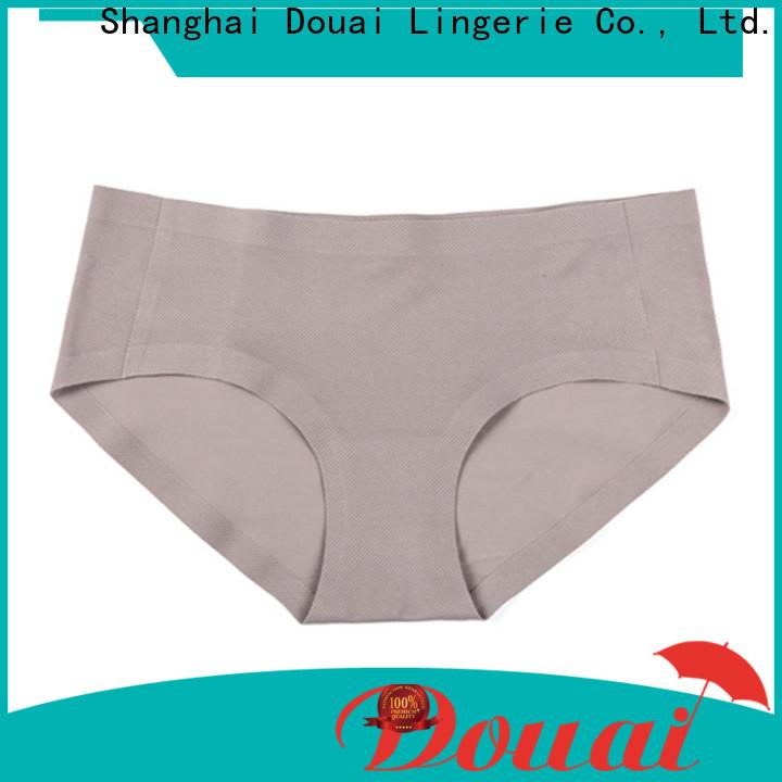 Douai good quality girls seamless underwear wholesale for women