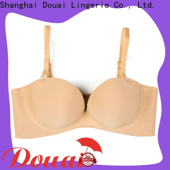 Douai women's half cup bras design for dress