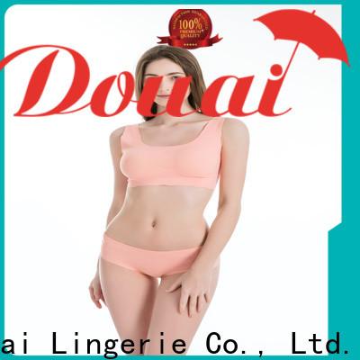 elastic best women's sports bra supplier for hiking