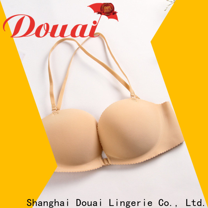 cotton front clasp bra design for girl
