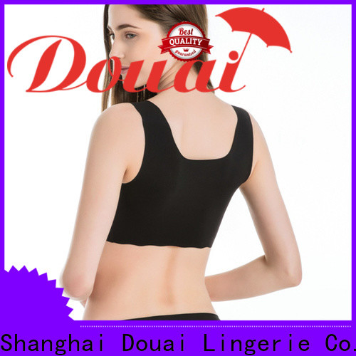 Douai yoga bras for large breasts factory price for hiking