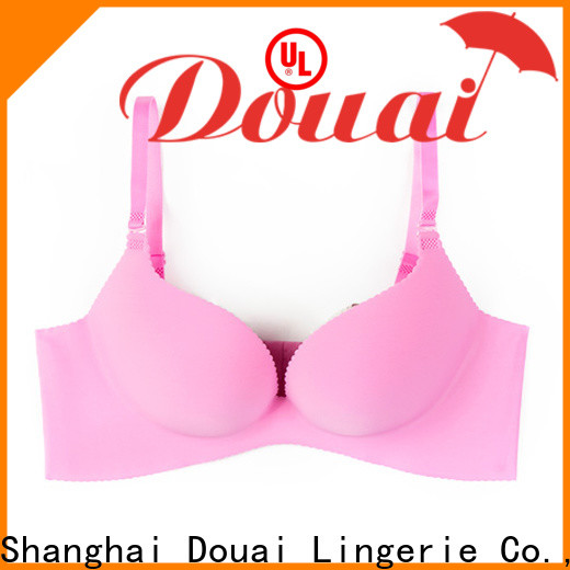 Douai push up bra set supplier for girl