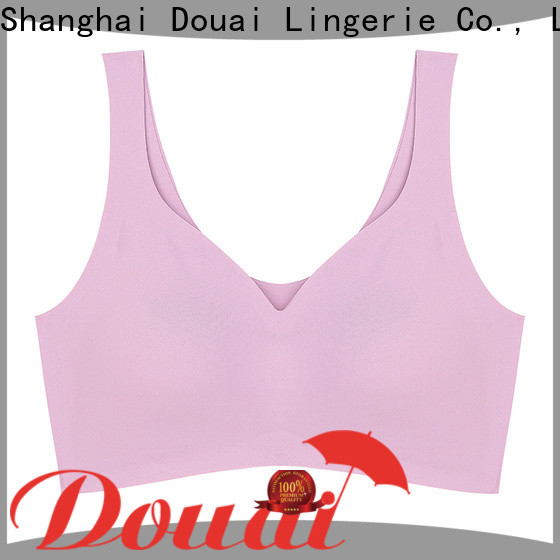 thin push up sports bra factory price for sport